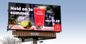 Hold on to Summer billboard