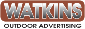 watkins outdoor advertising logo